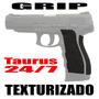 Grip Empunhadura Texturizado Taurus Pt 24/7 Similares Coldre