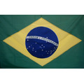 Bandeira Brasil Oficial Bordada 1,12 X 1,60 Frete Gratis