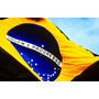Maravilhosa Bandeira Oficial Do Brasil - Gigante! 3,00x2,00m