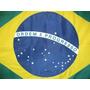 Bandeira Oficial Brasil Tamanho 68 X 98cm 1,5p Frete Grátis!