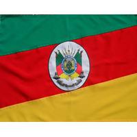 Bandeira Oficial Do Rio Grande Do Sul Tam.68x97cm