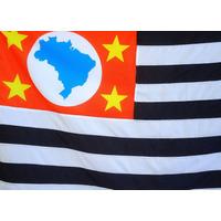 Bandeira Oficial De São Paulo Tam.68x97cm