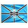 Bandeira Oficial Grêmio Poa Tam. 135 X 193cm 3p Frete Grátis