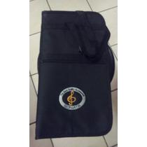 Capa Case Bag Para Baquetas Luxo Sonata