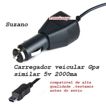 Carregador Veicular P/ Gps Foston De 7 Polegadas
