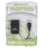Bateria Recarregável + Cabo Usb Para Controle Xbox - Preto