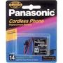 Bateria Para Telefone Sem Fio Panasonic P-p305 Tipo 14 2.4v