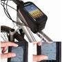 Bolsa Case Celulares/gps Para Bicicleta Bike Quadro Roswheel