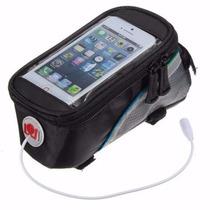 Phone Bag Bolsa De Bicicleta Porta Celular Iphone Smartphone