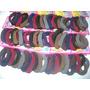 Elástico De Meia Para Cabelo - Kit Com 6 Unidades