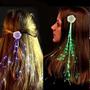 Linda Flor De Led (luzes Coloridas)para Enfeite Do Cabelo