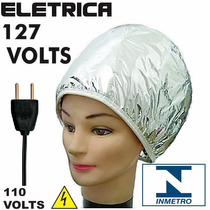 Touca Térmica Elétrica Metalizada 110v / 127v Inmetro