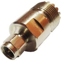 Conector Adaptador Sma - Uhf Para Ligar Ht A Antena Externa