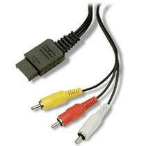 Cabo De Video Componente Ps2 E Ps3