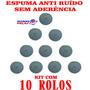 Espuma Para Chicotes E Anti-ruído Sem Cola 10 Unidades