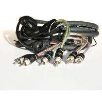 Rca Bt6 Audison Connection Competição 5,5m 6 Vias