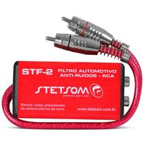 Filtro Supressor Anti-ruído Rca Stf-2 Stetsom Som Automotivo