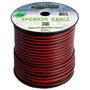 Fio Paralelo Technoise Dynamic 2x3,00mm² Preto/vermelho 100m