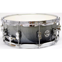 Caixa Para Bateria Pdp Concept By Dw Silver To Black 14x5,5