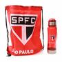 Garrafa Squeeze 650ml Com Bolsa Time São Paulo Spfc
