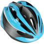 Capacete Ciclista Tamanho G Infantil Azul / Cinza