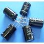 Capacitor P/ Alto Falante 100uf * 100v Bipolar 105° (10 Pçs)