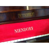 Protetor Para As Teclas Do Piano Com Bordado Em Fios Dourado