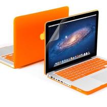 Kit 3x1 Capa Case Protetor Tela Teclado Macbook Pro 13