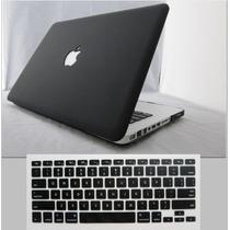 Capa Macbook Mac Book Pro + Capa De Teclado Silicone