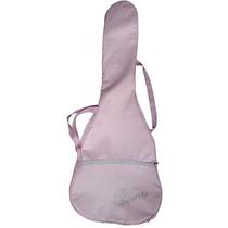 Capa Bag Cor Rosa Para Violao