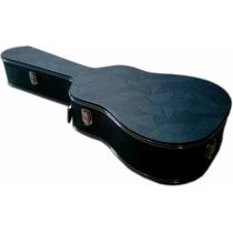 Estojo Case Para Violão Folk Luxo