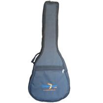 Capa Bag Para Violão 3/4 Em Nylon 600 Extra Acolchoada