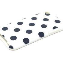 Capa Silicone Poá Para Ipod Touch 4ª Geração