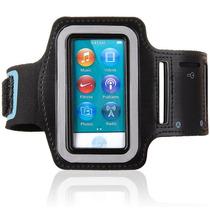 Braçadeira Armband Ipod Nano 7 - Preta - Frete Grátis