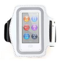 Braçadeira Armband Ipod Nano 7 - Branca - Frete Grátis