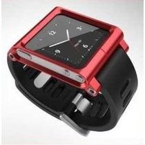 Pulseira Lunatik Para Ipod Nano 6ª Geração - Vermelha
