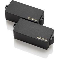 Set Captadores Emg-pax Pickup Black Ativo