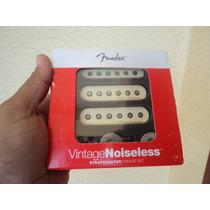 Captador Fender Vintage Noiseless Creme 100% Novo F.+gratis