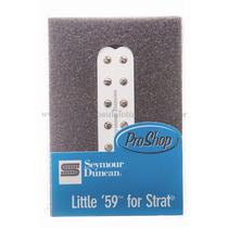 Sl59-1n Little 59 Branco Strato Seymour Duncan. Pos.braço.