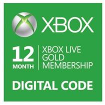 Xbox Live Gold Brasil - Br - Usa - 12 Meses - Xbox 360