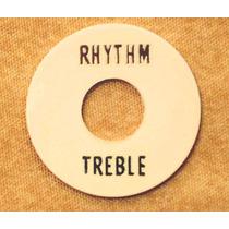 Escudo Creme Chave Seletora Guitarra Les Paul Rhythm Treeble
