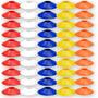 50 Cones Half Prato Demarcação Chinesinho Circuito Agilidade