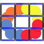 01 Quadrado Agilidade +12 Discos 20cm Eva = A Função De Cone