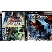Uncharted 1 E 2 Dual Pack (ps3)