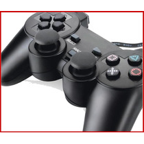 Controle Playstation 3 E Pc Computador Joystick Ps3 Novo