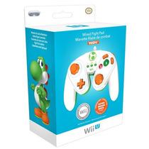 Controle Game Cube Yoshi For Nintendo Wii U Original Lacrado