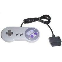 Controle Super Nintendo Na Caixa + Frete Grátis