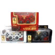 Controle Sem Fio Playstation 2 Personalizado+jogo De Brinde