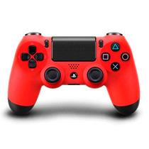 Controle Ps4 Vermelho Dualshock 4 Original Sony Wireles