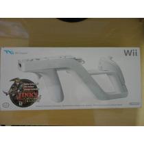 Pistola Wii Zapper + Zelda Links Crossbow Training Original